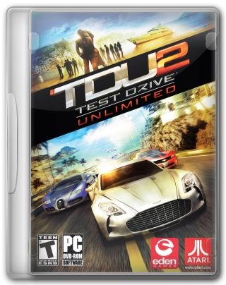 Capa Jogo Test Drive Unlimited 2 PC