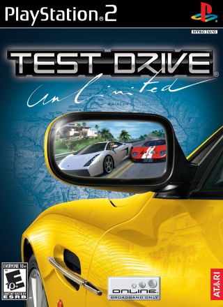 Capa Jogo Test Drive Unlimited PS2