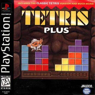 Capa Jogo Tetris Plus PS1