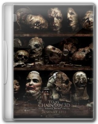Capa do Filme Texas Chainsaw 3D