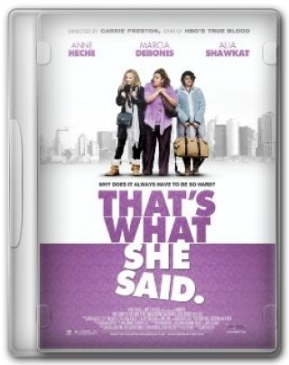 Capa do Filme That\'s What She Said