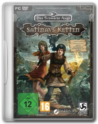 Capa Jogo The Dark Eye Chains of Satinav PC