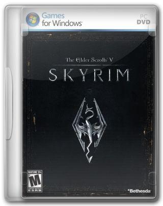 Capa Jogo The Elder Scrolls V Skyrim PC