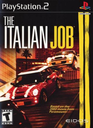 Capa Jogo The Italian Job PS2