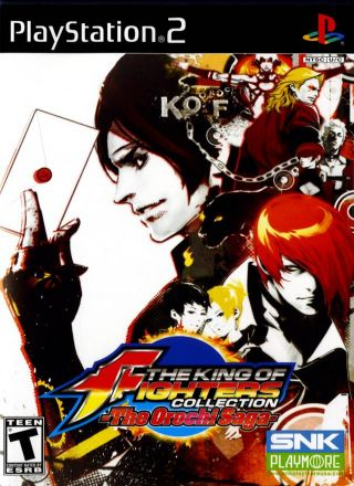 Capa Jogo The King of Fighters Collection The Orochi Saga PS2