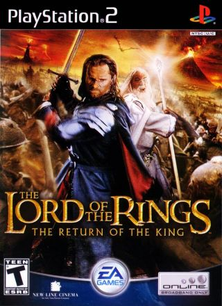 Capa Jogo The Lord of the Rings The Return of the King PS2