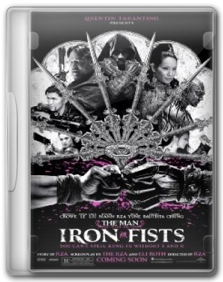 Capa do Filme The Man with the Iron Fists