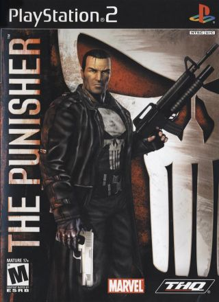 Capa Jogo The Punisher PS2