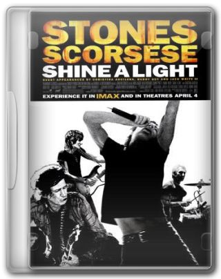 Capa do Filme The Rolling Stones Shine a Light