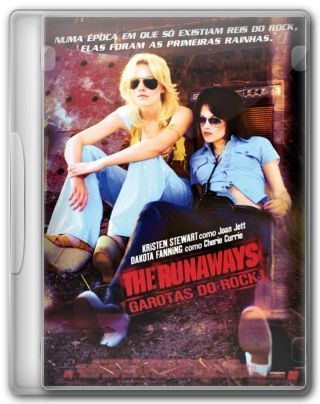 Capa do Filme The Runaways Garotas do Rock
