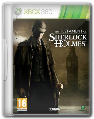 Capa Jogo The Testament of Sherlock Holmes XBOX 360