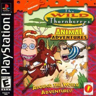 Capa Jogo The Wild Thornberrys Animal Adventures PS1