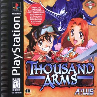 Capa Jogo Thousand Arms PS1