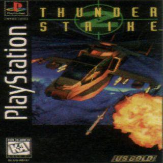 Capa Jogo ThunderStrike 2 PS1