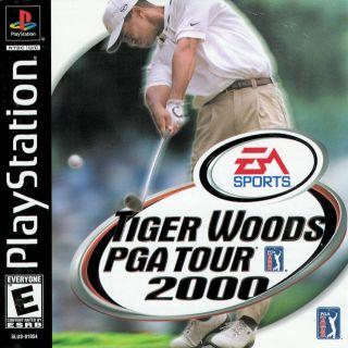 Capa Jogo Tiger Woods PGA Tour 2000 PS1
