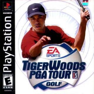 Capa Jogo Tiger Woods PGA Tour Golf PS1