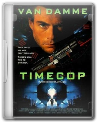Capa do Filme Timecop O Guardião do Tempo