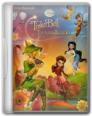 Capa do Filme Tinker Bell e o Tesouro Perdido