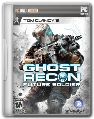 Capa Jogo Tom Clancys Ghost Recon Future Soldier PC