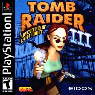Capa Jogo Tomb Raider 3 Adventures of Lara Croft PS1