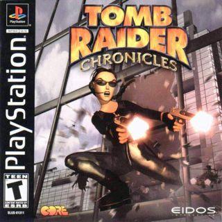 Capa Jogo Tomb Raider Chronicles PS1