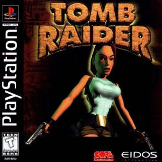 Capa Jogo Tomb Raider PS1