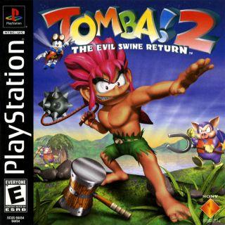 Capa Jogo Tomba 2 The Evil Swine Return PS1