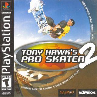 Capa Jogo Tony Hawk's Pro Skater 2 PS1