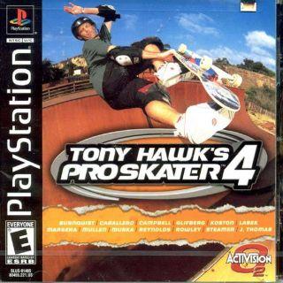 Capa Jogo Tony Hawk's Pro Skater 4 PS1