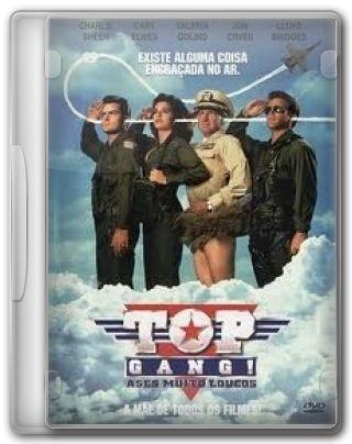Capa do Filme Top Gang! Ases Muito Loucos