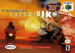 Top Gear Hyper Bike Nintendo 64 ROM Download Baixar Top Gear Hyper