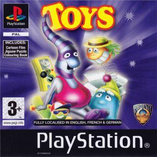Capa Jogo Toys quot;R quot; Us Interactive CD Sampler Disc PS1