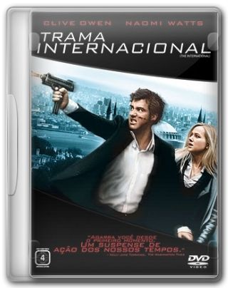 Capa do Filme Trama Internacional
