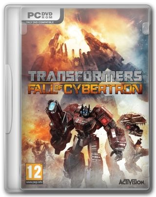 Capa Jogo Transformers Fall of Cybertron PC