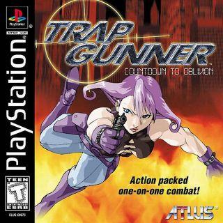 Capa Jogo Trap Gunner PS1