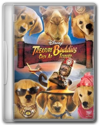 Capa do Filme Treasure Buddies Caça ao Tesouro