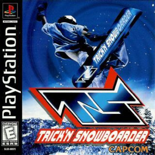 Capa Jogo Trick n Snowboarder PS1