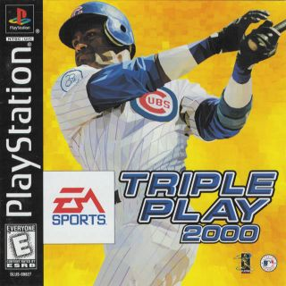 Capa Jogo Triple Play 2000 PS1