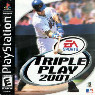 Capa Jogo Triple Play 2001 PS1