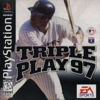Capa Jogo Triple Play 97 PS1