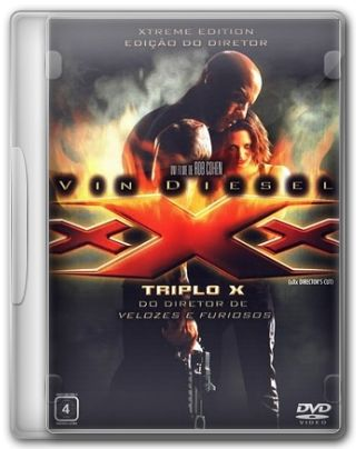 Capa do Filme Triplo X