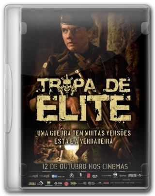 Capa do Filme Tropa de Elite 1