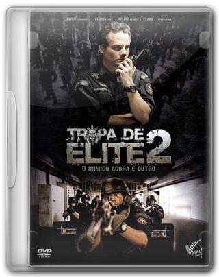 Capa do Filme Tropa de Elite 2 O Inimigo Agora É Outro