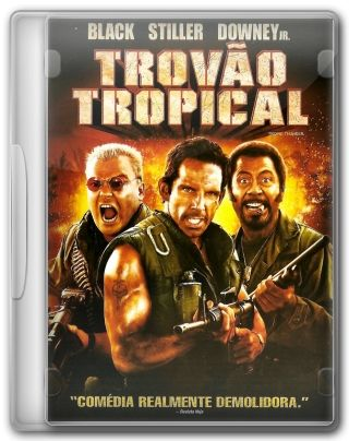 Capa do Filme Trovão Tropical