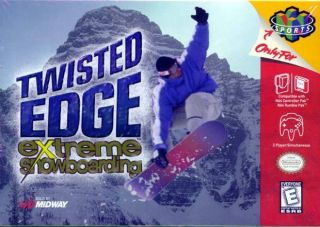 Twisted Edge Extreme Snowboarding USA