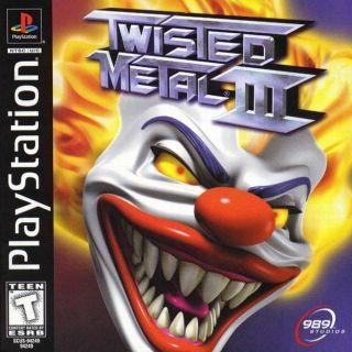 Capa Jogo Twisted Metal 3 PS1