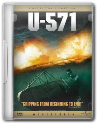 Capa do Filme U-571 - A Batalha do Atlântico