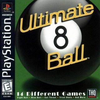 Capa Jogo Ultimate 8 Ball PS1