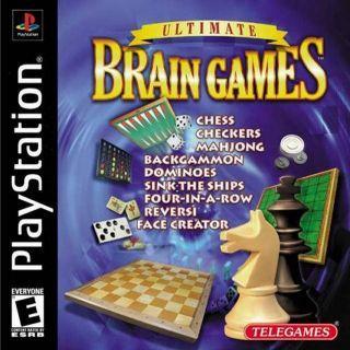 Capa Jogo Ultimate Brain Games PS1