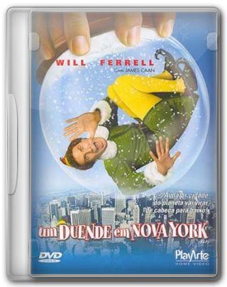 Capa do Filme Um Duende em Nova York